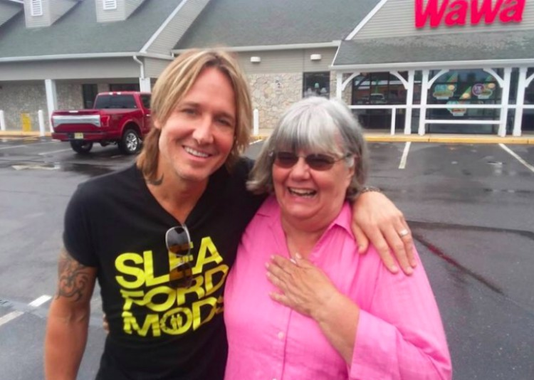 Image of Ruth Reed and Keith Urban