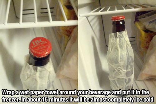 papertowelaroundbeverage