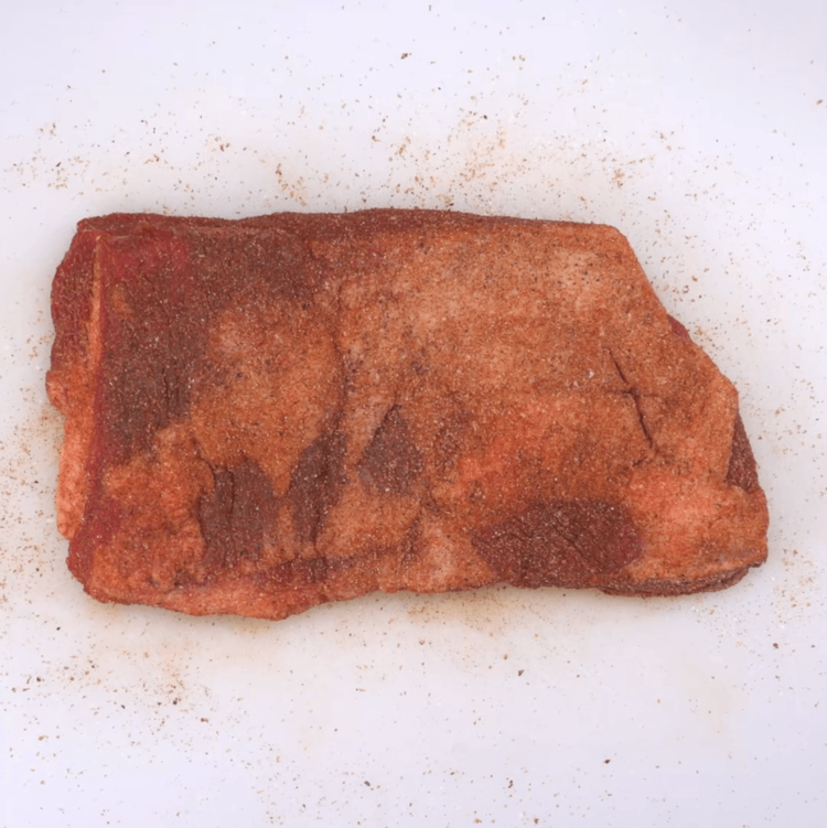 Oven-Barbecued Beef Brisket spice rub