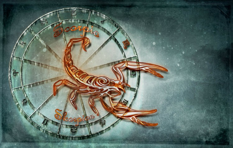 Image of Scorpio zodiac sign.