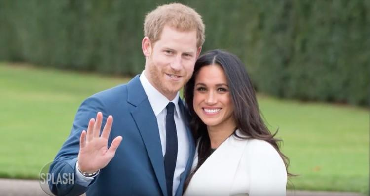Image of Prince Harry and Meghan Markle.