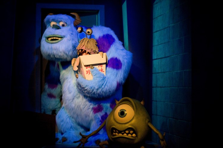 Image of Mike and Sully from Monsters Inc.