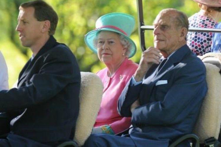 Image of Prince Philip and Queen Elizabeth.
