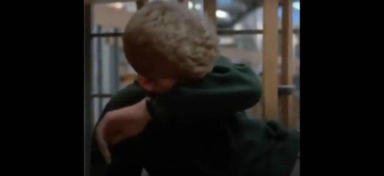 Image of boy crying.