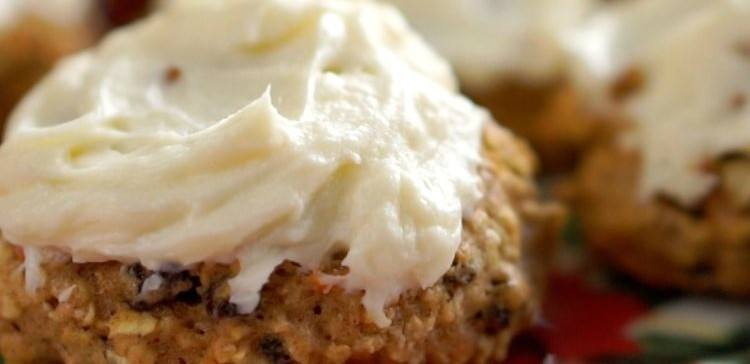Image of carrot cake cookie.