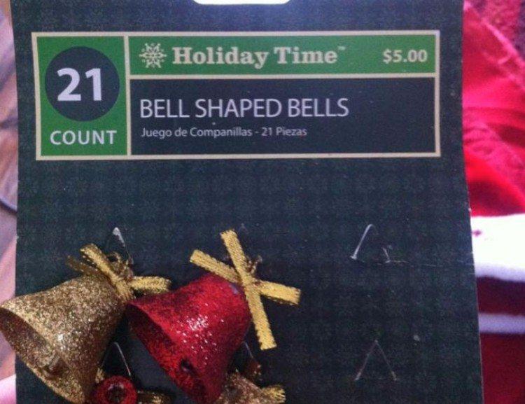 Decorative bells.