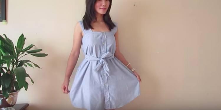 mens shirt dress