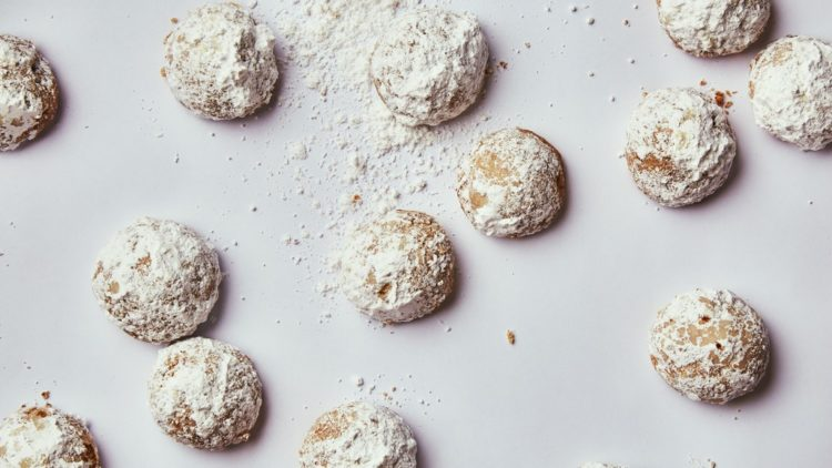 Image of butterball cookies