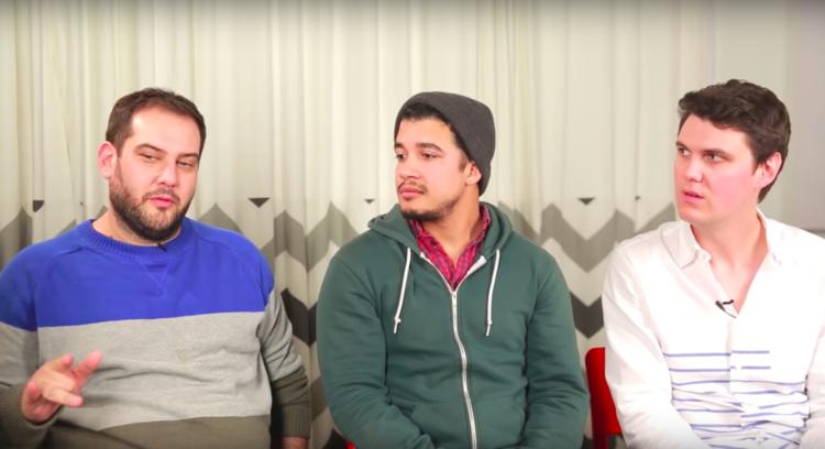 Image of three men