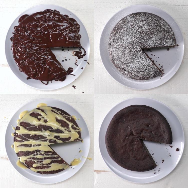 Diet Chocolate Cakes