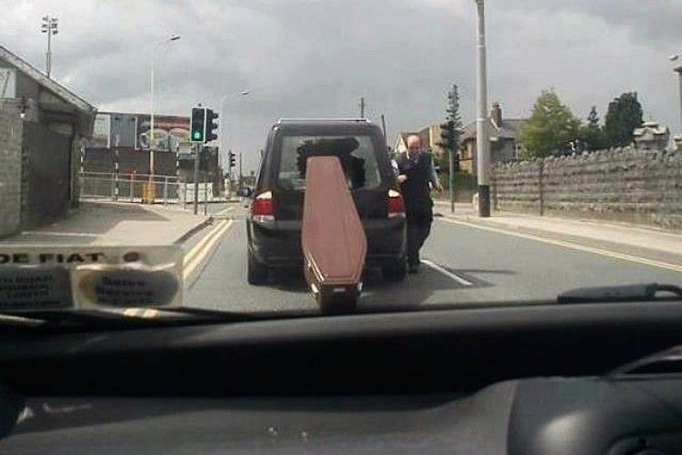 bad day coffin