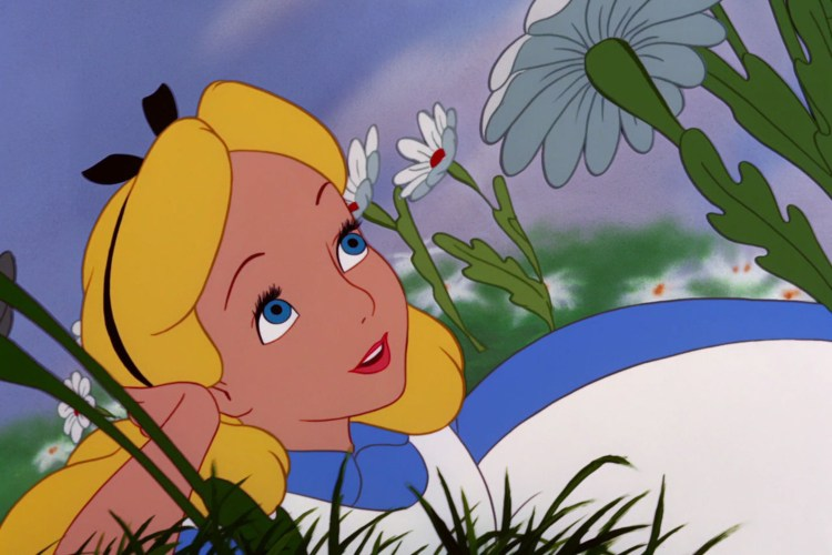 Pic of Alice from Alice in Wonderland.