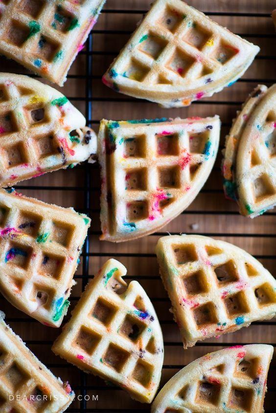 Cake Waffles