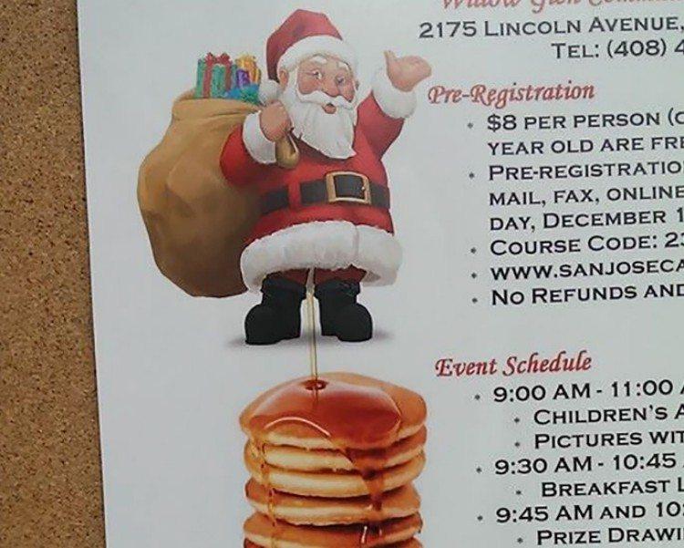 Christmas flyer.
