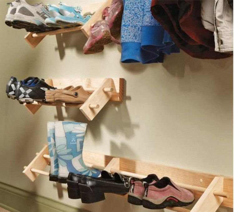 Wall-Mounted-Shoe-Organizer