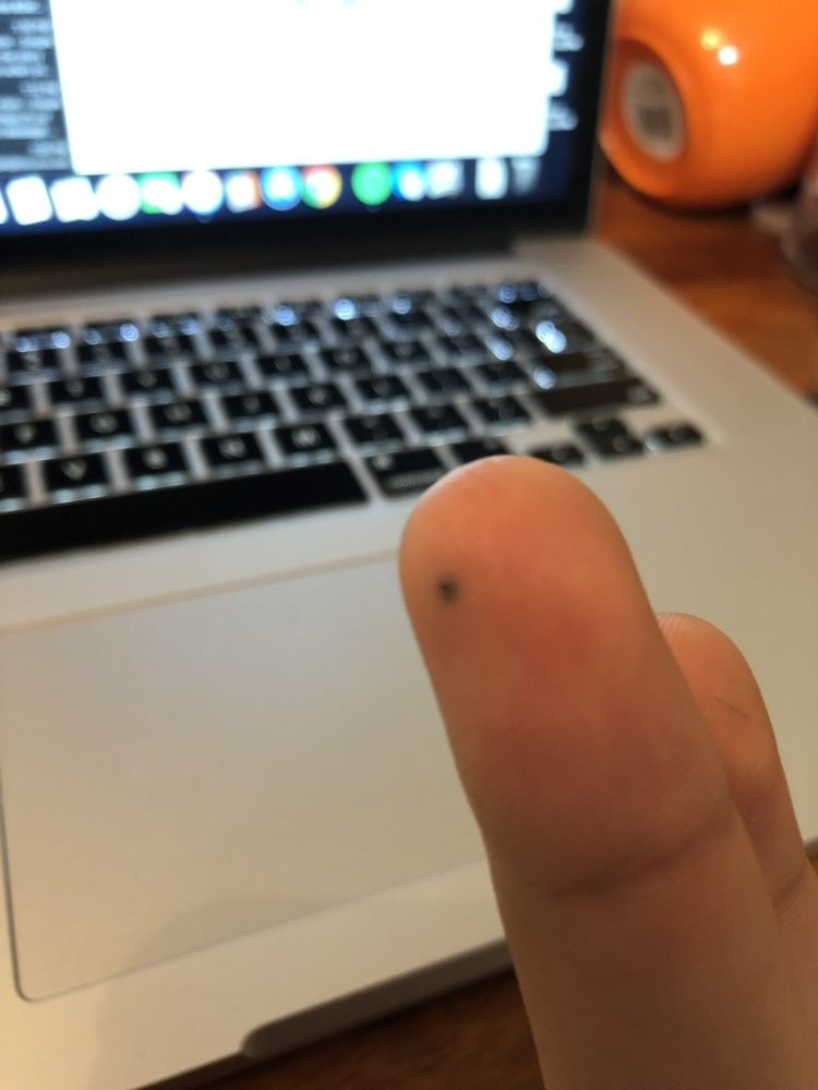 Image of pencil stabbing