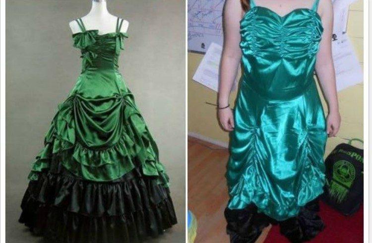 fail ugly greendress