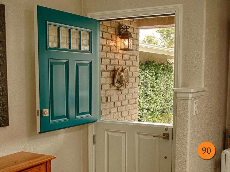 Example of a Dutch door.