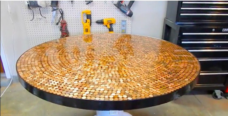 penny table complete