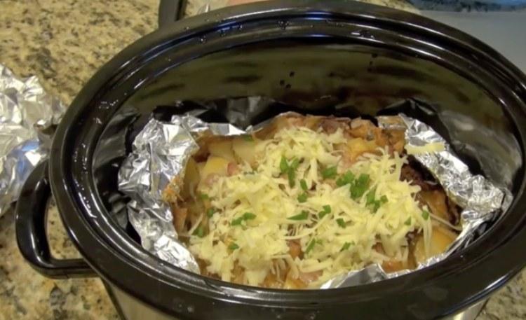 breakfast crock potatoes