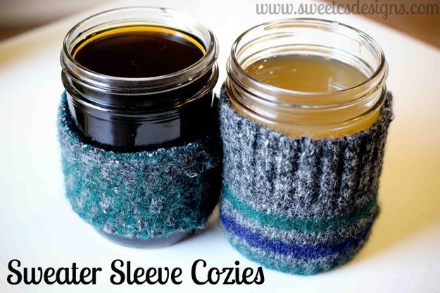 Sweater Cozies