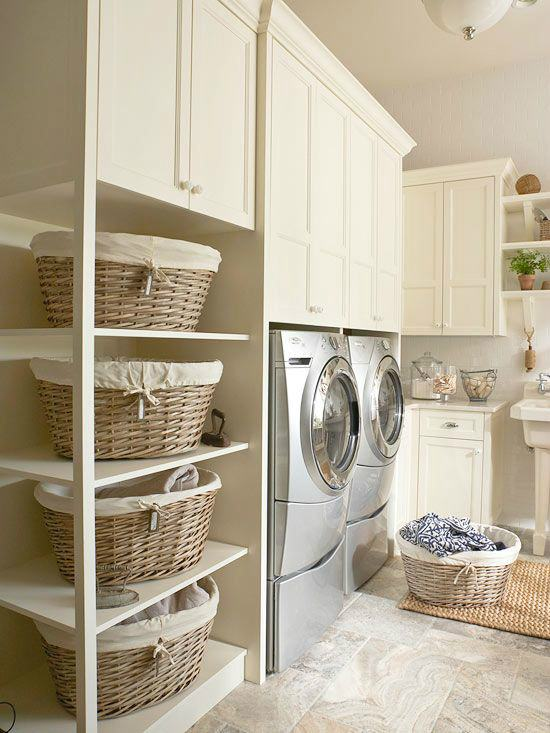 Here Are 21 Brilliant Ways To Decorate The Laundry Room