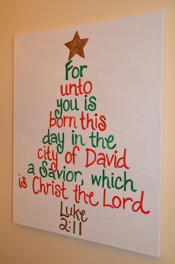 Word Christmas Tree