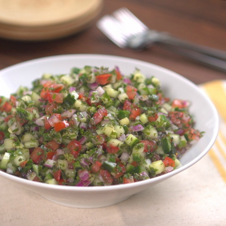 Mediterranean Cucumber Salad 1