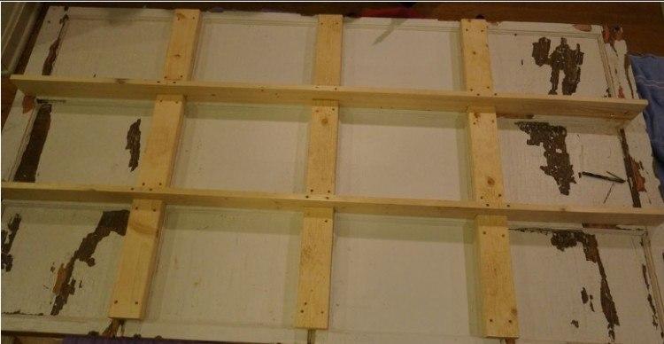 grid re-enforcement design for garage door table
