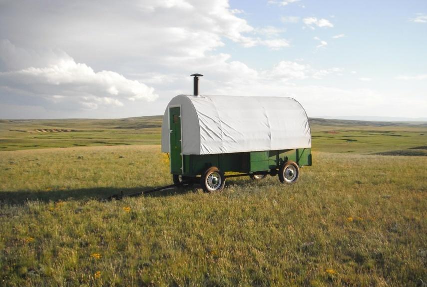 Vintage Sheep Wagon