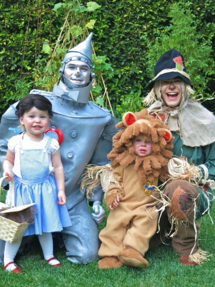 Neil Patrick Harris and family Wizard of Oz
