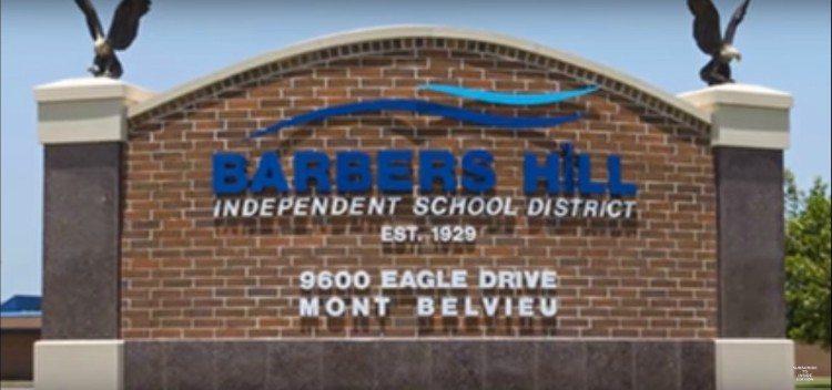 Image of school sign.