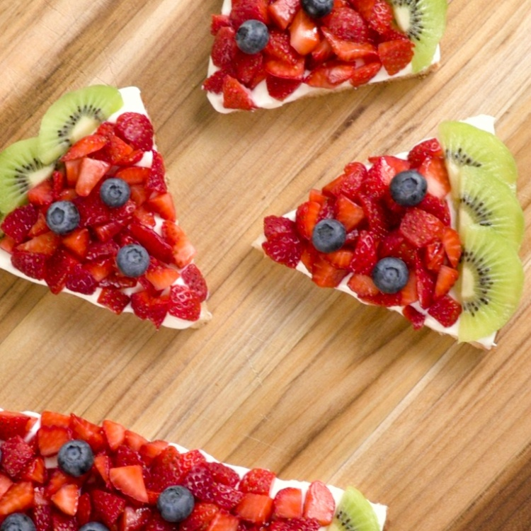 Slices of watermelon fruit cookie