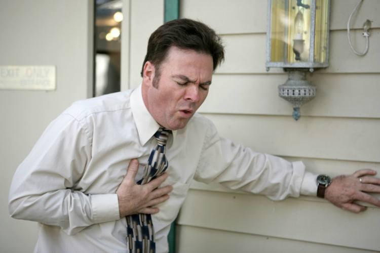 chest pain man