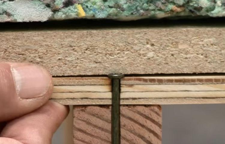 Underlayment, sub floor and floor joist cause squeaks