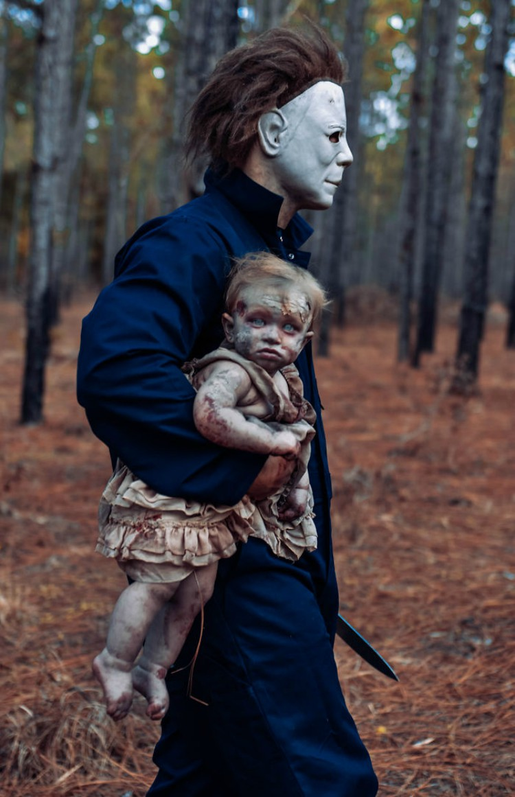 Photographer Dad Does Horror Photoshoots With His