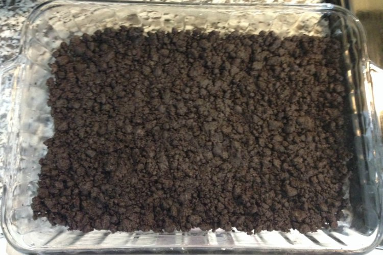 OP LvH No Bake Chocolate Lasagna Oreo Layer