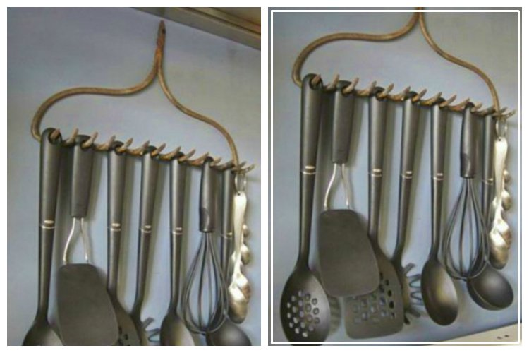 Rake Utensil Holder