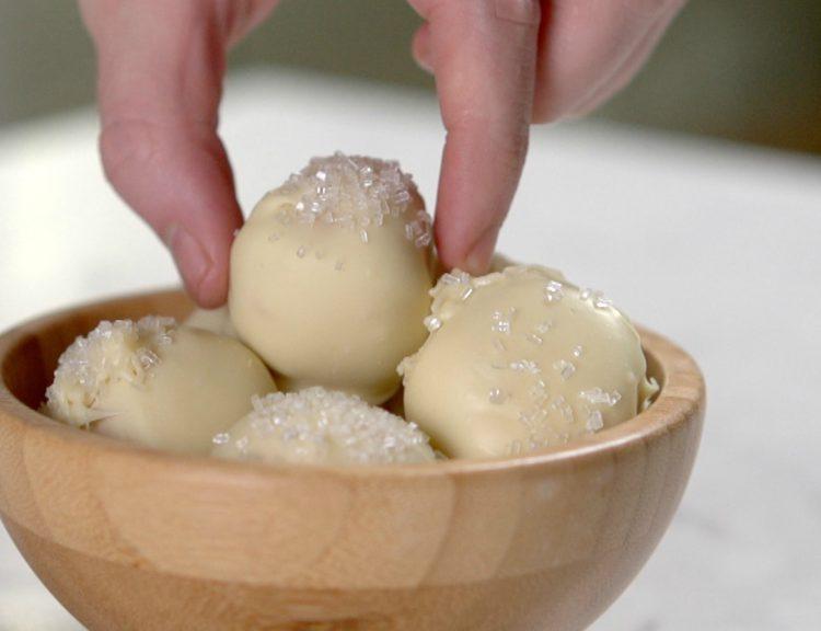 Peanut Butter Snowballs