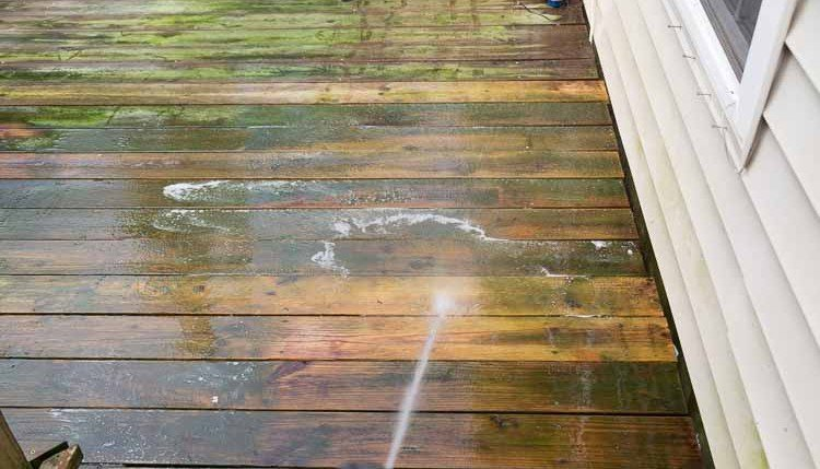 Washing Deck