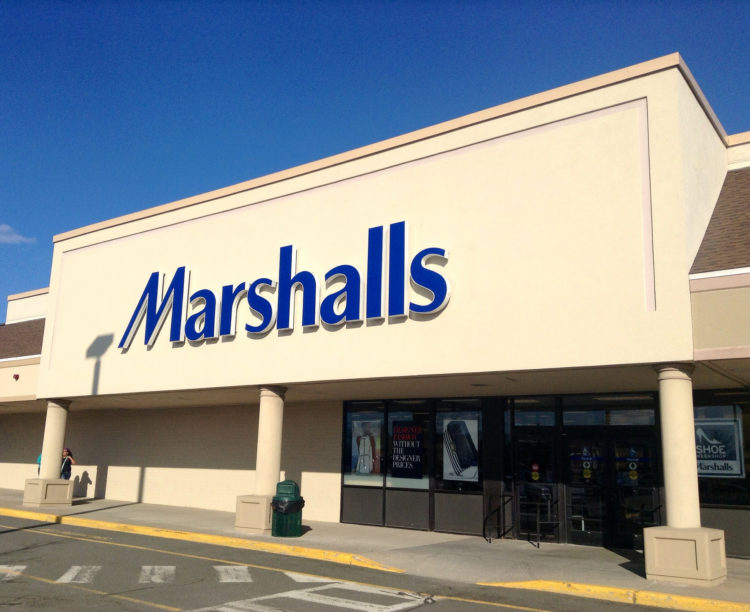 Image of Marshalls store front