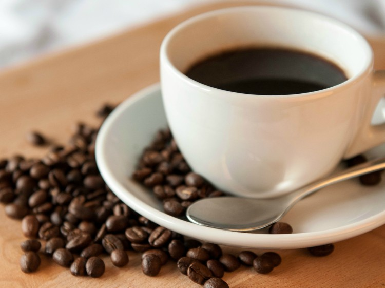 Image of coffee and beans.