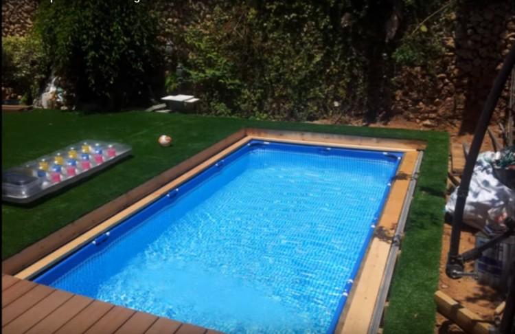This In-Ground Pool Can Be Hidden For Yard Space
