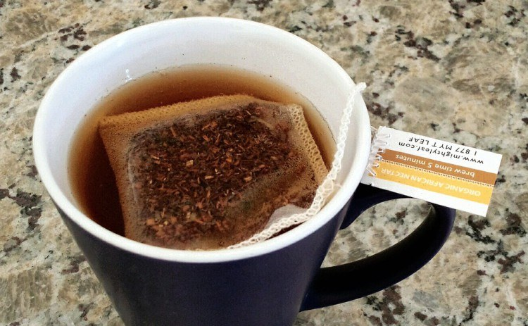 teabag in cup