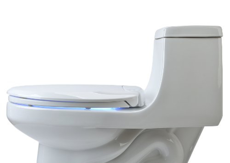 Image of heated toilet seat