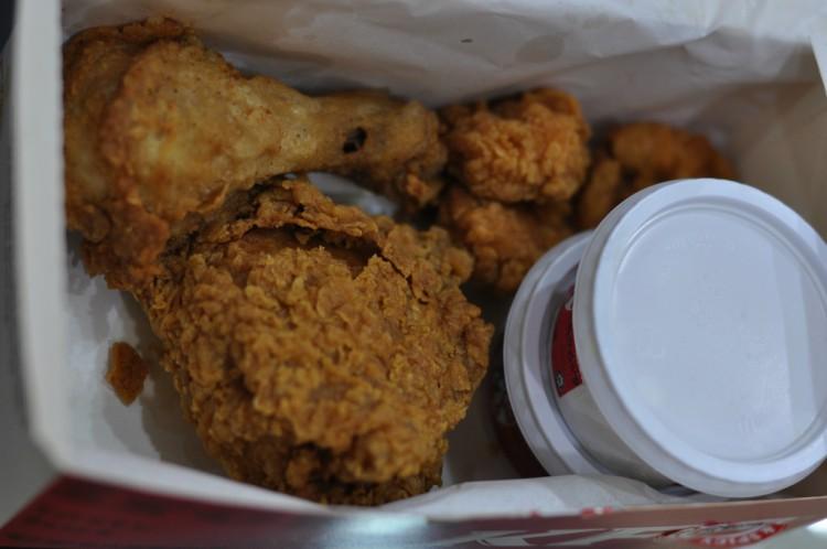 Image of Kentucky Fried Chicken.