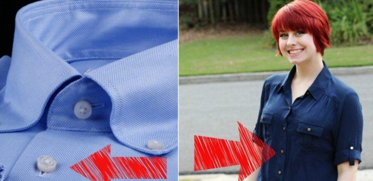 6dca9e5068c08e Why the Buttons on Men's and Women's Shirts Are on the Opposite Side