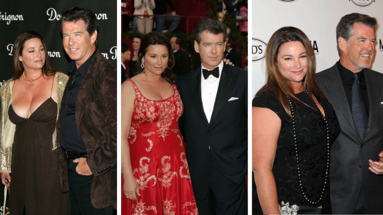 Pictures of Pierce Brosnan with wife Keely Shaye Smith