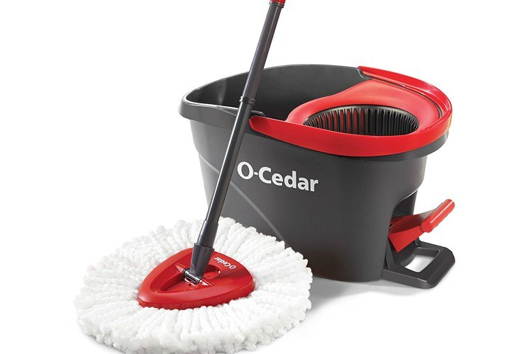 clean spin mop