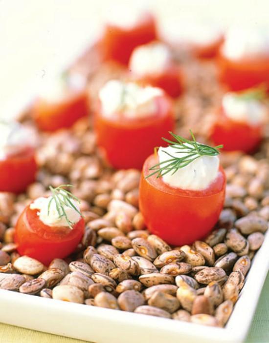 Tomatoes with Lemon Dip Edited